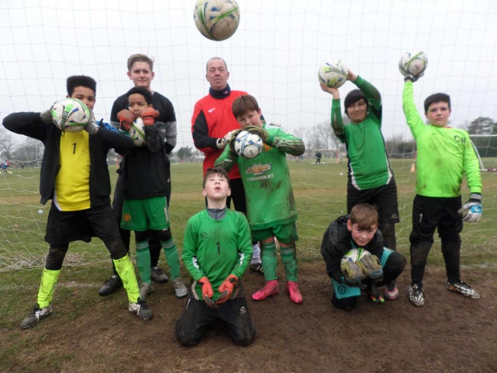 Goalkeeper training v2