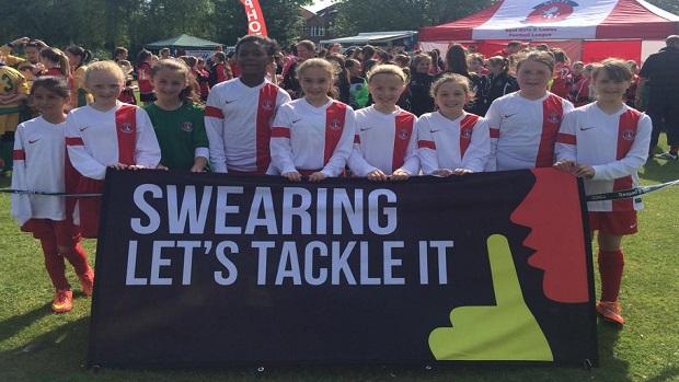 Kent FA - Swearing - Lets Tackle It