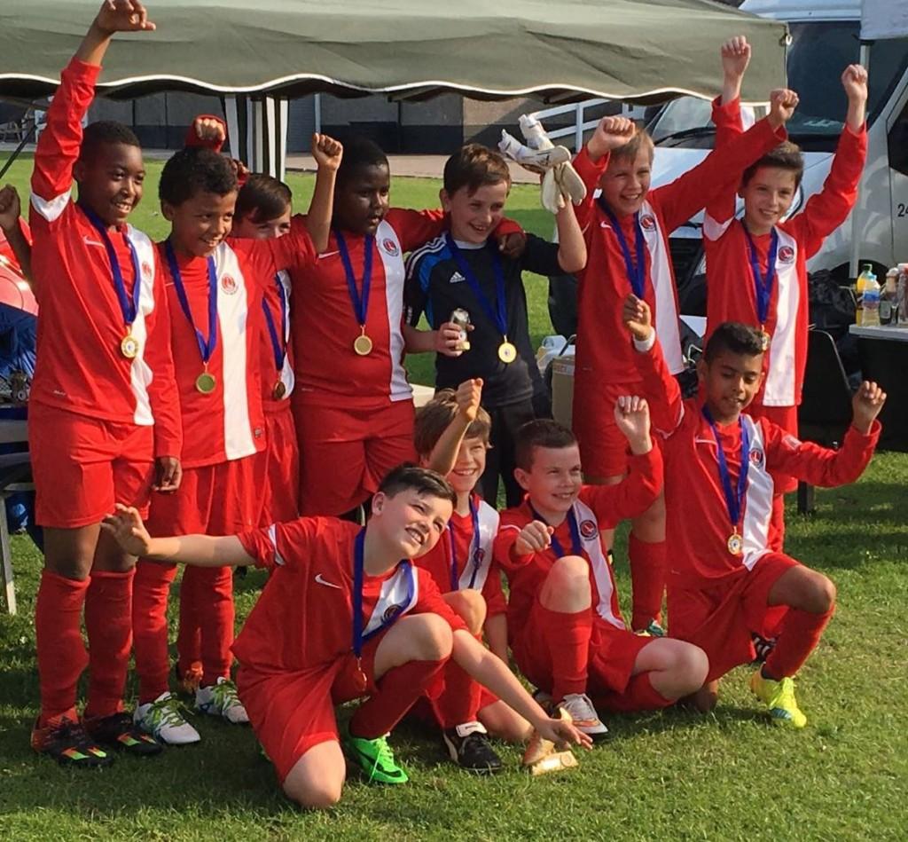 Knights U1o tournament winners