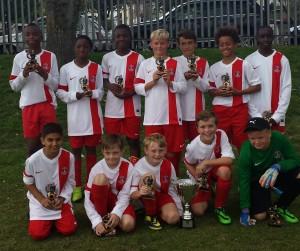 Sabres U12 Teviot Tournament Triumph
