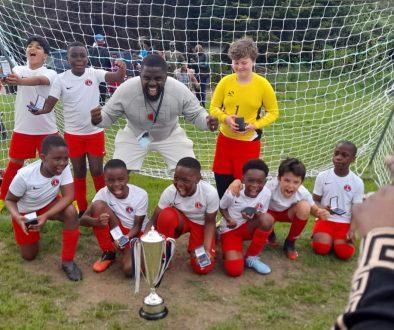U10 Spartans Cup Winners